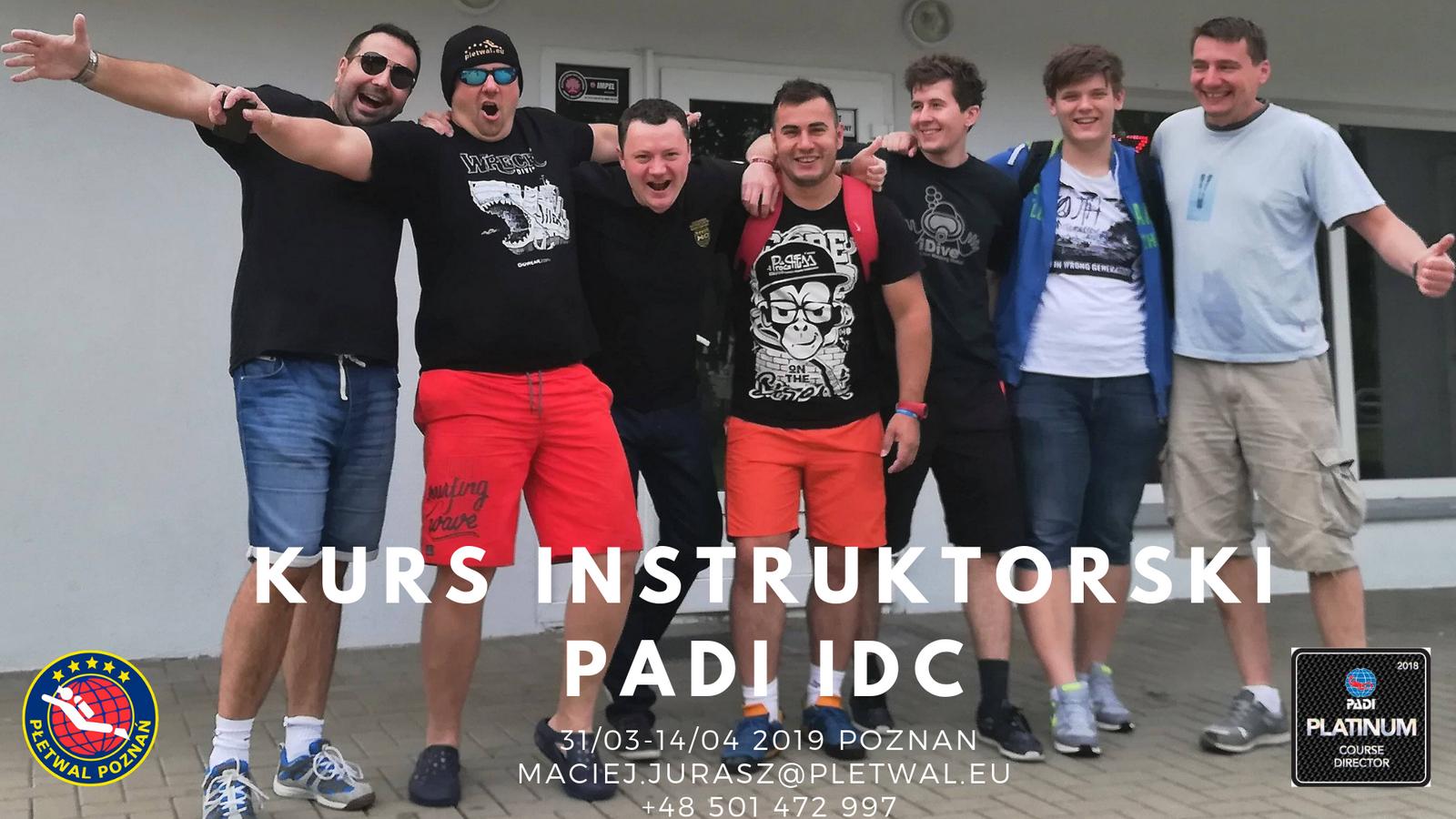 Kurs Instruktorski PADI IDC